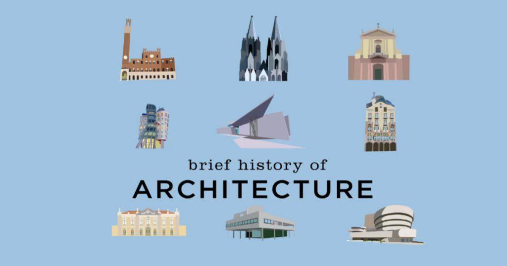 Brief History of Architecture - Arquitetos Urbanistas